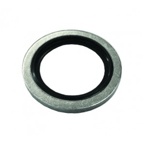 """Bonded Seals Mild Steel Nitril e Seal To Suit 2""""BSPP Thread"""