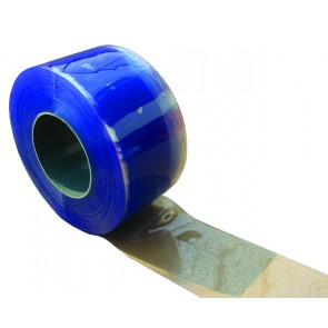 PVC Safestrip 200mm Wide x 2mm Thick Clear Pola 50mtrs