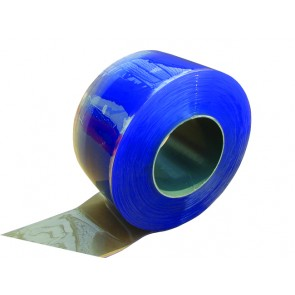 PVC Safestrip 200mm Wide x 2mm Thick Clear 50mtrs