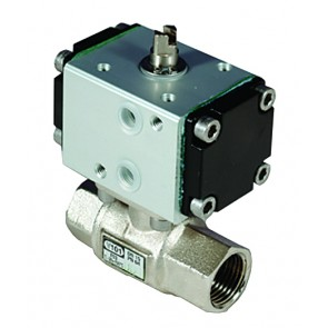 OMAL G11/4 DOUBLE ACTING BALL VALVE