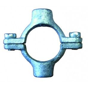 """11/4"""" Double Pipe Ring - M10 Tapped"""