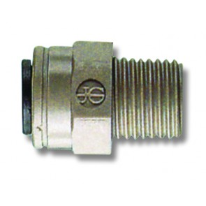 "Male Stud 3/16""OD to 1/4""BSP"