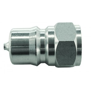 """Hydraulic ISO """"B"""" Stainless St eel Coupling Plug G1/2 Female"""