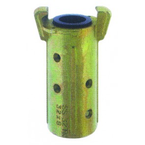 Sandblast Hose Coupling Mallea ble Iron For 32x8mm Hose